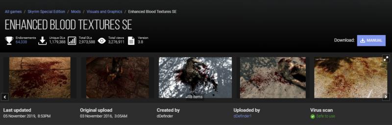Enhanced blodd textures