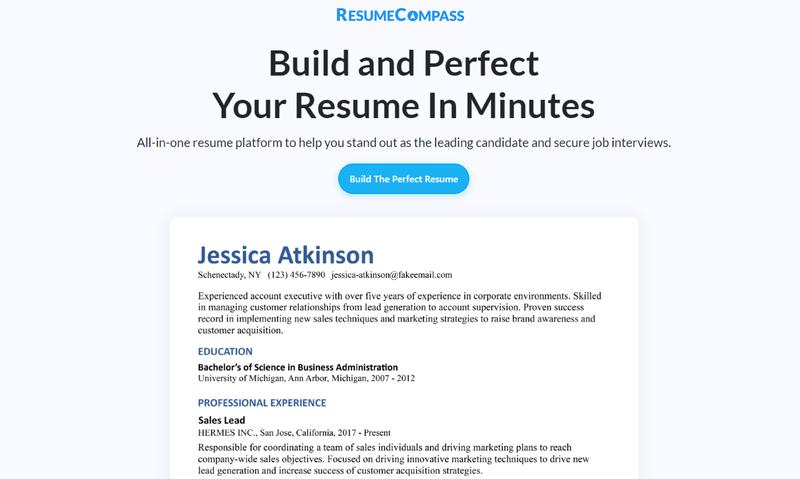 ResumeCompass